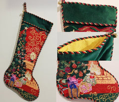 Lee's Needle Arts Stocking