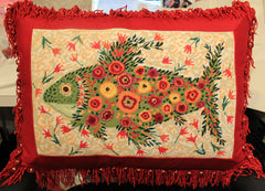 Melissa Shirley Designs John Johannsen Fish Pillow