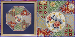 Oriental Design Framed