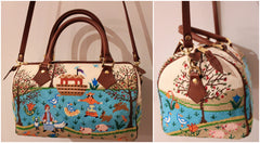 Shoulder Handbag Finished by: Elizabeth Turner