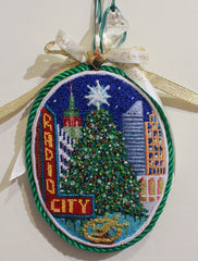 DJ Designs Radio City Ornament