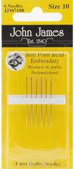John James Size 10 Bead Embroidery Needles # JJ10710B