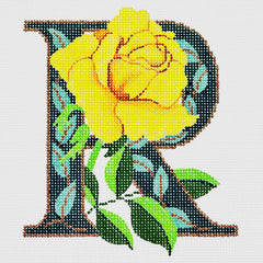 "Lee's Needle Arts  #AO1048  ""R""- Rose"