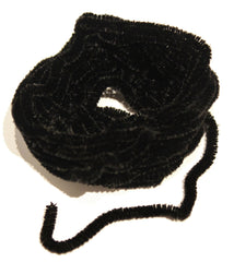 Access Commodities # SCH-NOIR Black Pure Silk Chenille