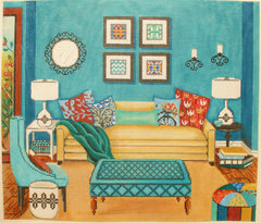 Alice peterson 2798 michelle s living room for Living room 18 x 12