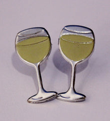 Cheryl Schaeffer White Wine Glass