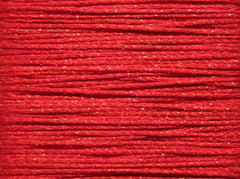 Crystal Braid by Rainbow Gallery # CR18 Brite Red