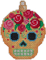 Associated Talents #EE-1454 Sugar Skull Ornament/Gold