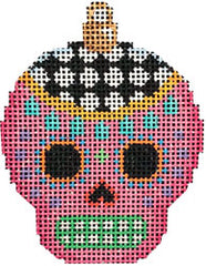 Associated Talents #EE-1456 Sugar Skull Ornament/Pink