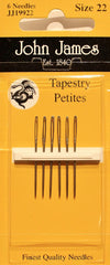 John James Size 22 Tapestry Petites Needles # JJ19922