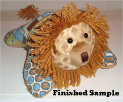 Sew Much Fun - Louie Lion 3-D Animal