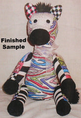 Sew Much Fun 3-D Zoe Zebra
