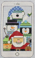 Sew Much Fun - Santa and Friends Selfie