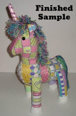 Sew Much Fun 3-D Unicorn with Stitch Guide