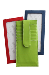 Planet Earth Leather - Slender Multi-Card Wallet