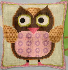 Vervaco # PN-0147380 Miss Owl Cross Stitch
