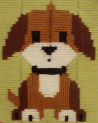 Vervaco # PN-0147444 Brown Doggy Long Stitch