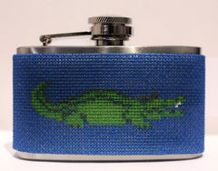 Voila # FL101 Alligator Mini 3 oz. Flask