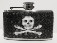Voila # FL377 Pirate Mini 3 oz. Flask