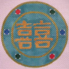 City Needlework # CN413 Double Hapiness
