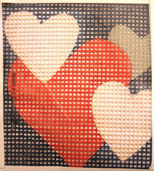 FW Crafts # 210 Hearts Kit