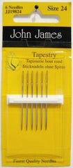 John James Size 24 Tapestry Needles # JJ19824