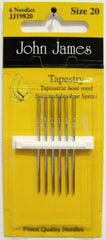 John James Size 20 Tapestry Needles # JJ19820
