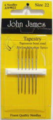 John James Size 22 Tapestry Needles # JJ19822