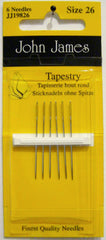 John James Size 26 Tapestry Needles # JJ19826