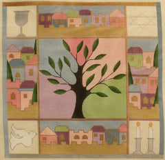 Sew Much Fun Tree Challah Cover