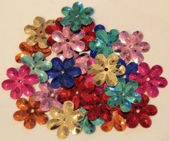 Sundance Beads # BDS-SQ102 Metallic Flower Sequins