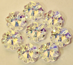 The Collection # 001 Crystal AB Swarovski Sew-On Flower Crystals