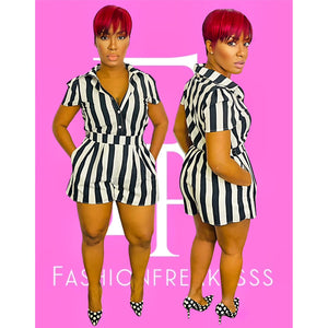 The Baddest Referee Romper