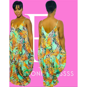 Beautiful Jungle Maxi Dress
