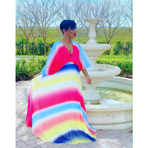 Ray of Colors Maxi Dress
