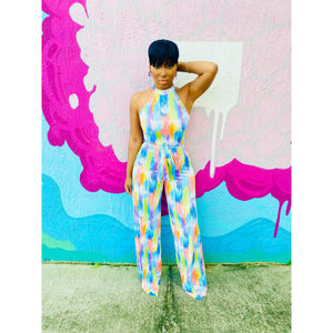Dashed jumpsuit