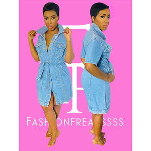 Summer Dayz Denim Dress