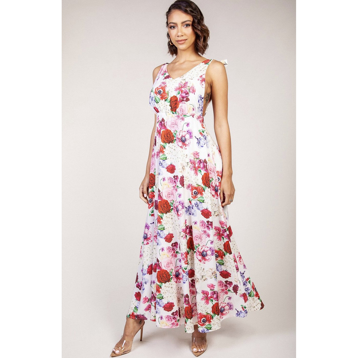 Bed Of Roses Maxi Dress