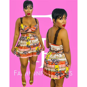 Richie Rich Skirt Set