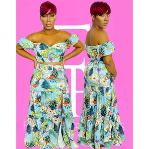 Breath Of Fresh Air Skirt Set