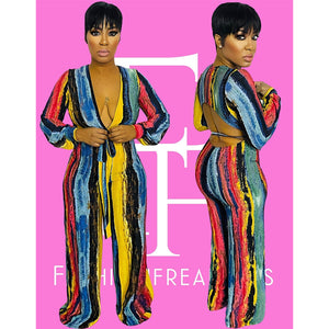 Body Paint Jumpsuit