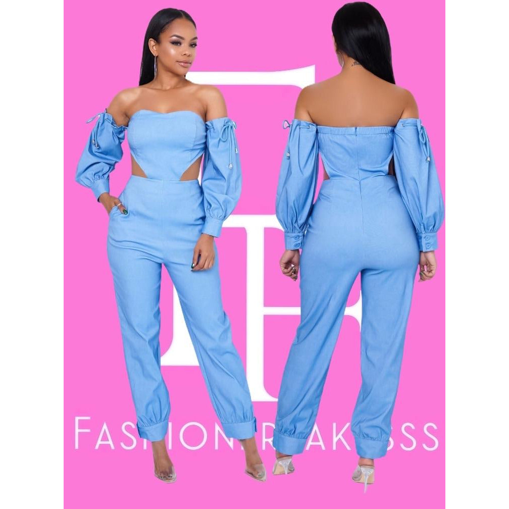 Deborah Denim Jumpsuit