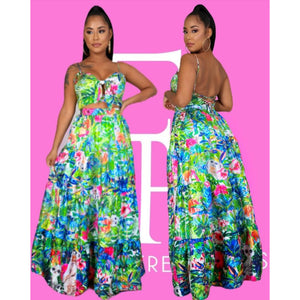 Nature Of Love Skirt Set