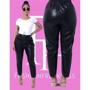 Jackie Leather Trousers