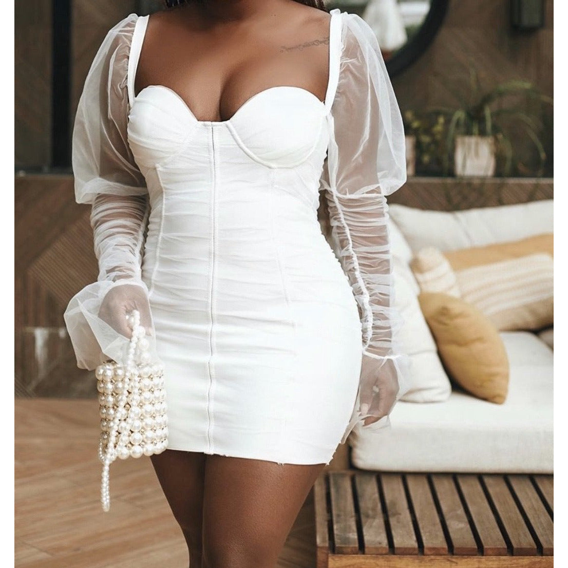 Cupids Heart Bandage Dress