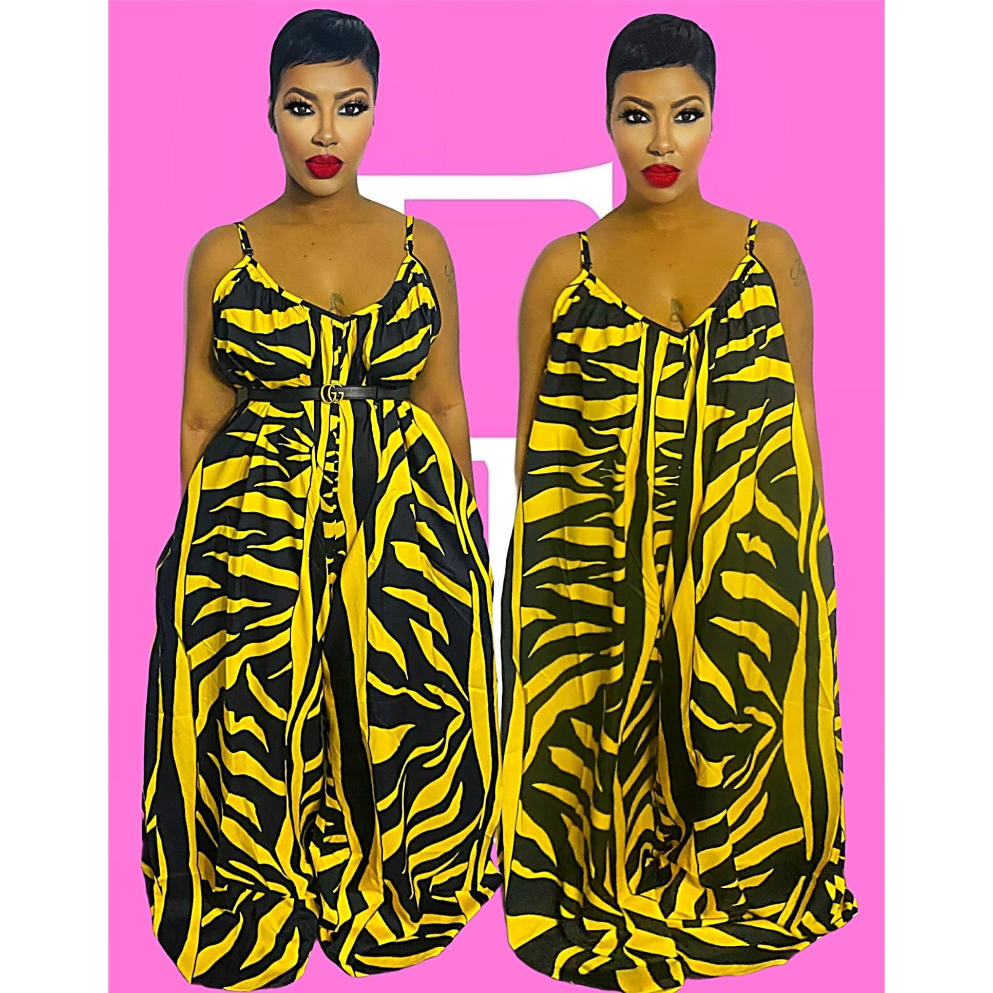 Plus Tribal Jumpsuit