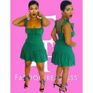 Emerald Beauty Dress