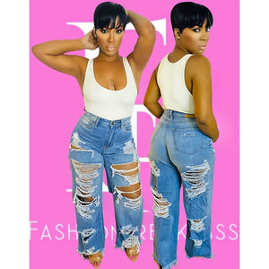 Sahai Distressed Jeans