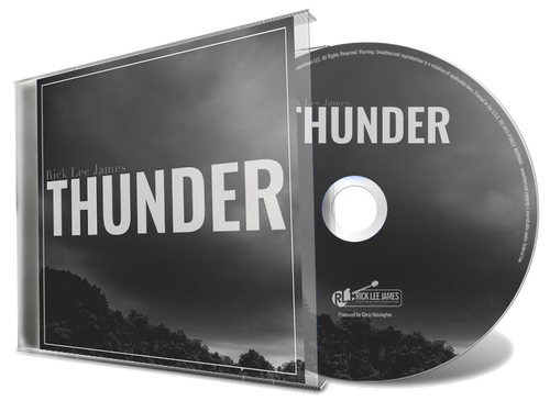 Thunder (CD) by Rick Lee James