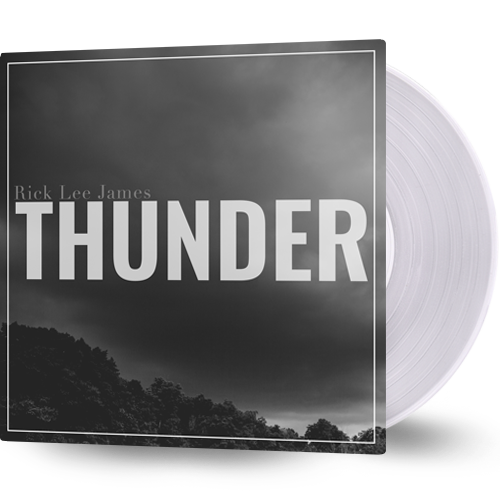 Thunder (Clear Vinyl) + Free Digital Album Download by Rick Lee James
